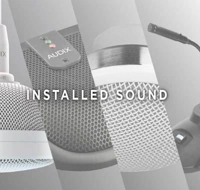 Installed Sound & PA Systems